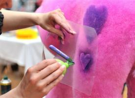 Креативне  розфарбовування шерсті